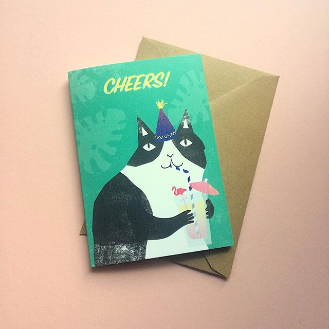 @catfestlondon is today! I haven't shown you all my new stock as I've wanted to exclusively reveal it all all today. Look forward to seeing all things CAT today, but here's one of my new greetings card designs. . . . #natcatcats #nathaliemooredesign #natcats #catfest #ovalspace #ilovecats #catsbetterthandogs #catlovers #catstateofmind #catworld #catlovergift #catadoption #catcrazy