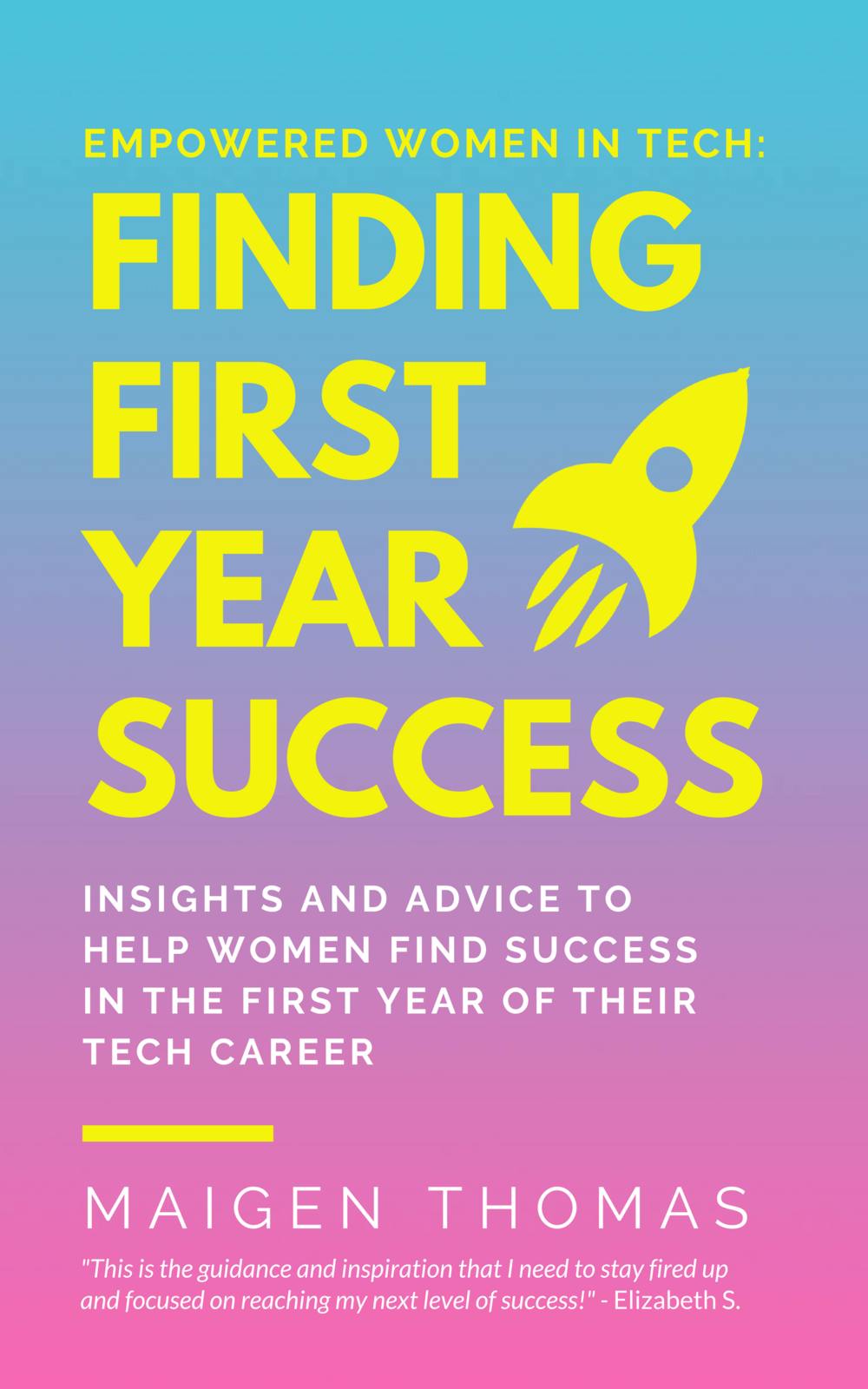 Empowered Women in Tech: Finding First Year Success - Focused on helping women who are starting their first career in tech, as well as those who are transitioning into technology as a second career, this book combines practical and actionable advice with personal insights from 60 successful tech women. Empowered Women in Tech: Finding First Year Success covers a variety of issues a woman might face in her first year, including: When, how and where to find mentorship. Non-technical skills needed to truly succeed. How to seek out and handle constructive or critical feedback. Ways to stay focused and consistent in the face of adversity. How to build a supportive network of other women. Techniques for facing challenges and overcoming them creatively.This book is dedicated to every woman who has ever felt like an impostor as she embarks on her career in tech.