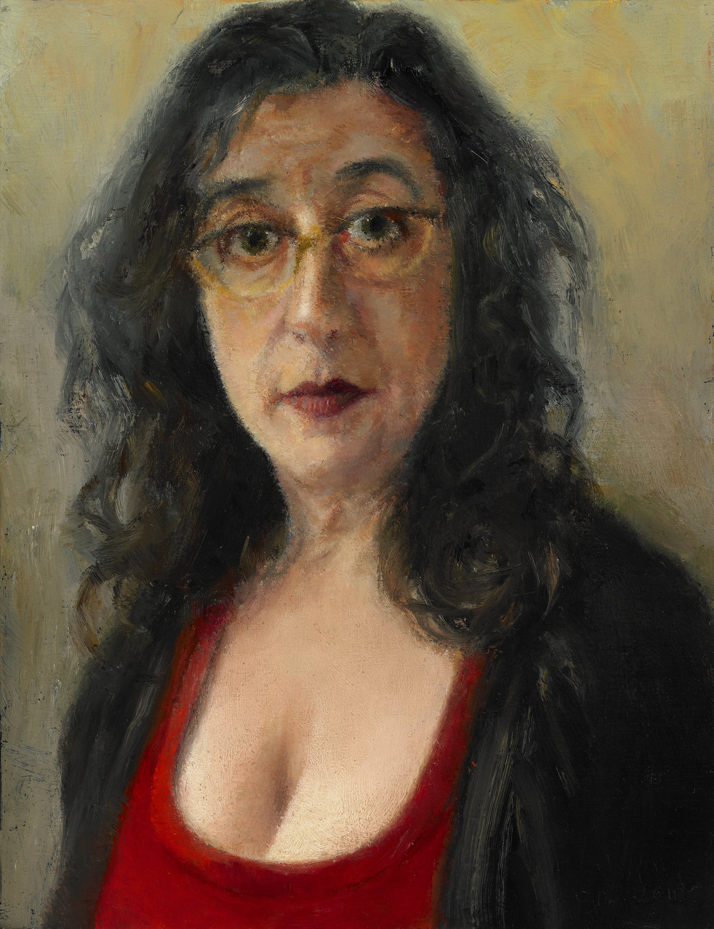 "Ellen Eagle I , Oil on wood Panel, 2011, 6 1/2"" x 5"""