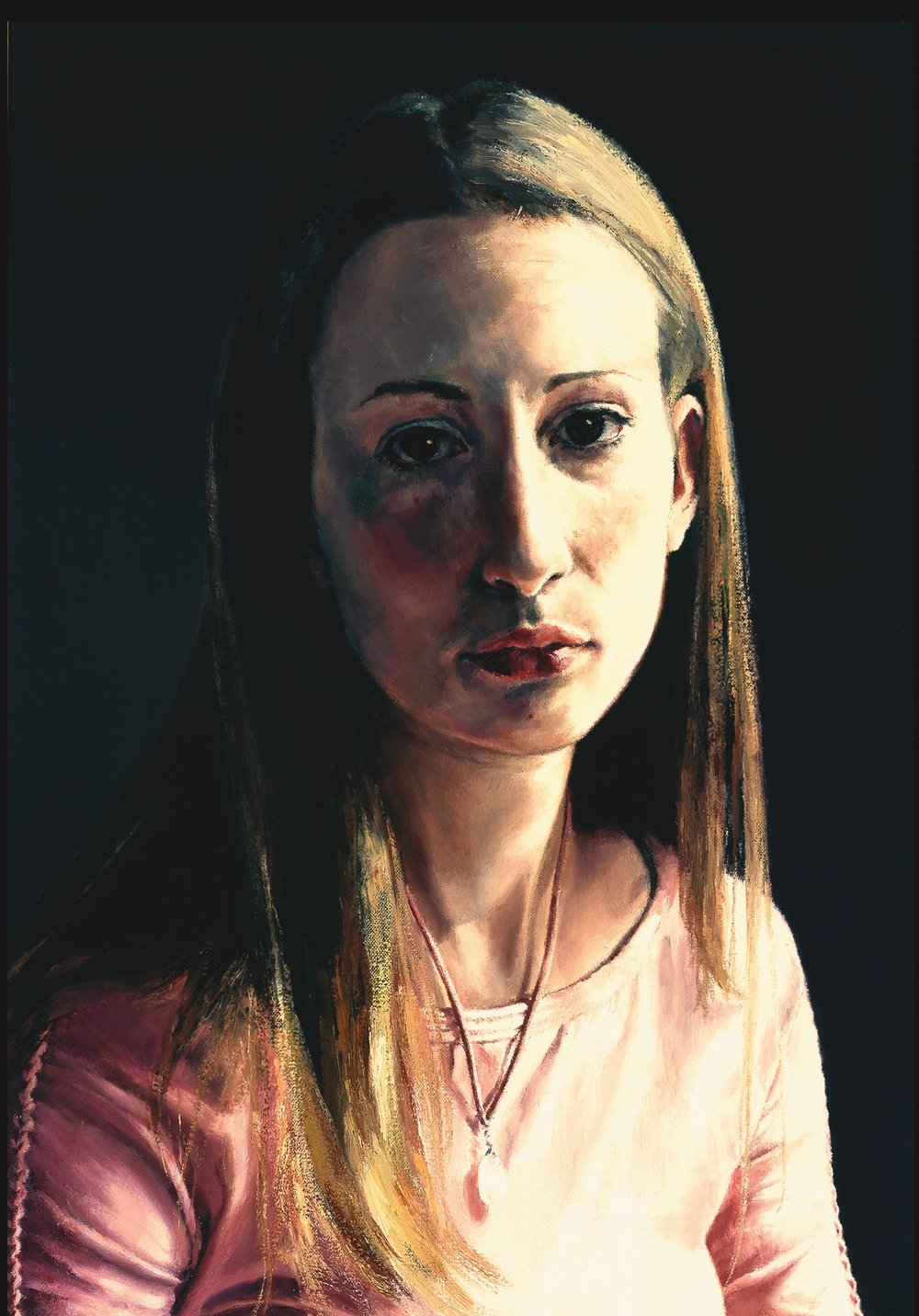 """Miss Anne Wingate, 17 , Oil on Canvas, 2003, 21"""" x 15"""