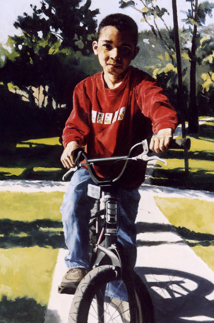 "Andrew Thiessen , Oil on Canvas, 2003, 36"" x 24""  Private Collection"