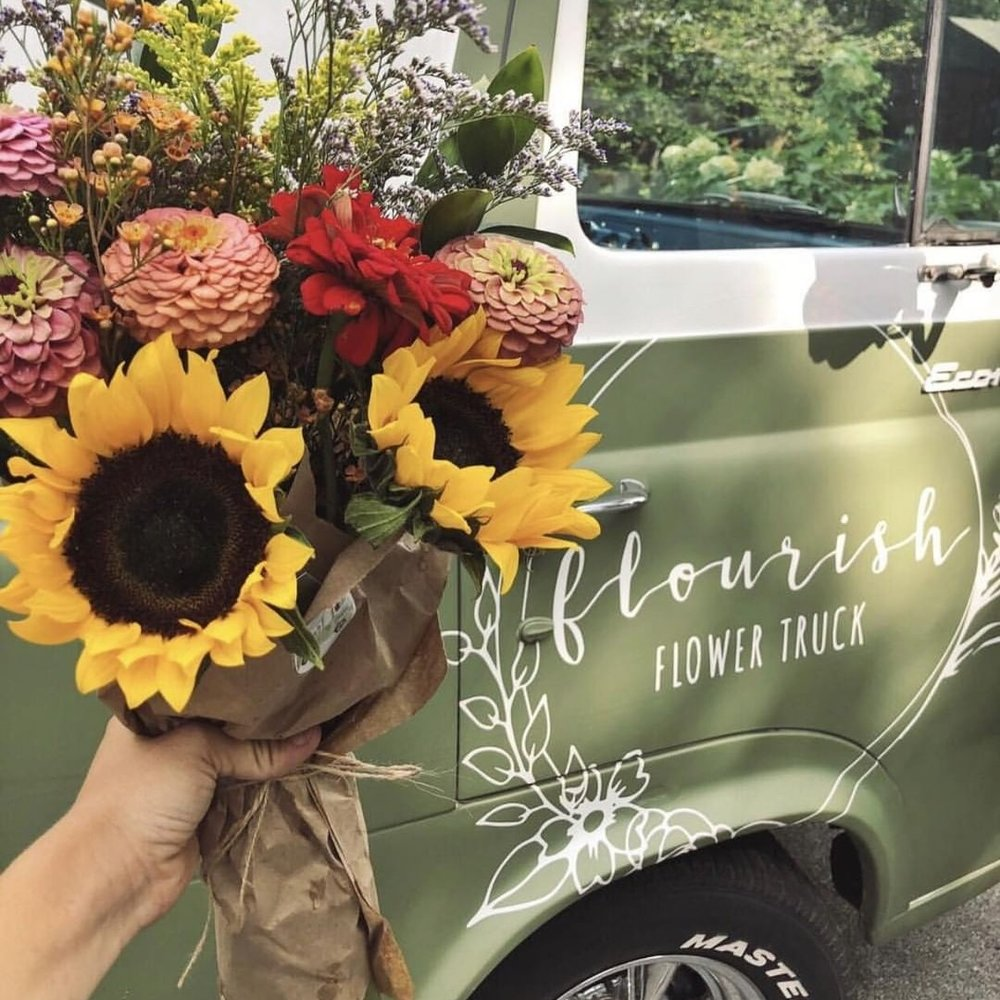 Knoxville's own mobile flower shop! This adorable, vintage pick-up pops up all over town for you to create-your-own bouquet from fresh, locally grown flowers.   Website  |  Facebook  |  Instagram