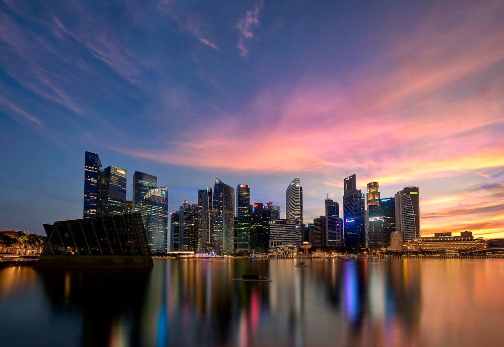 Singapore Skyline, May 2016
