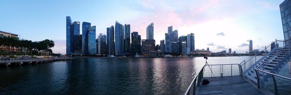 Singapore Skyline set up, May 2017