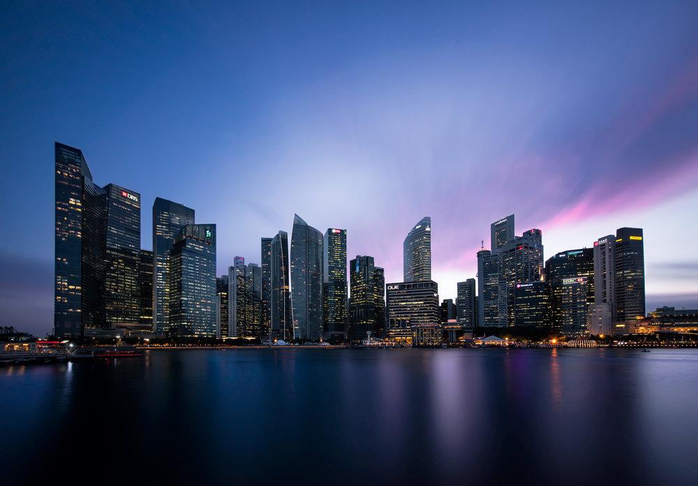 Singapore Skyline, May 2017