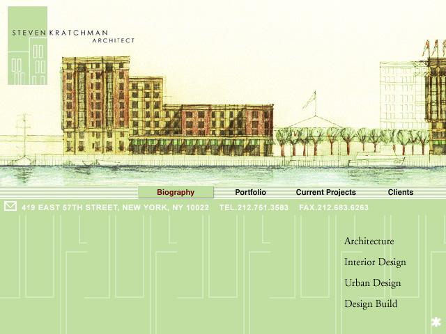 Steven Kratchman Architecture