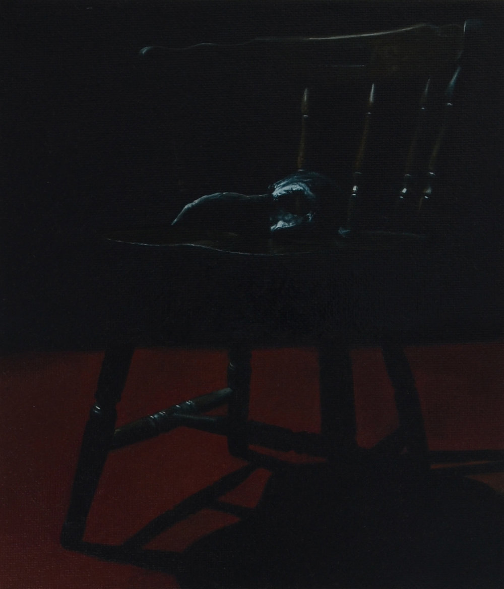 To the Unknown Spectator , one of the 2 oil paintings that I have in  Soul Noir