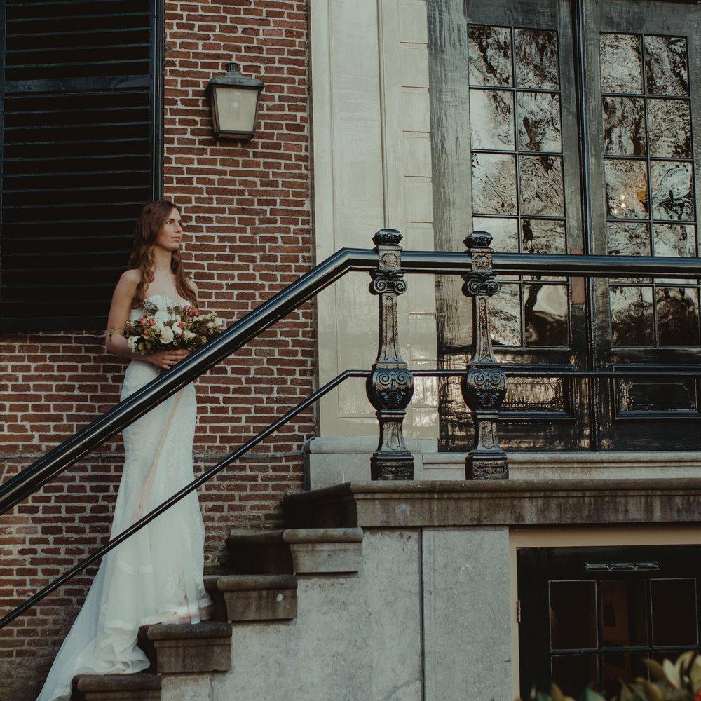 Romantic wedding bride - Daisy & Bird floral design