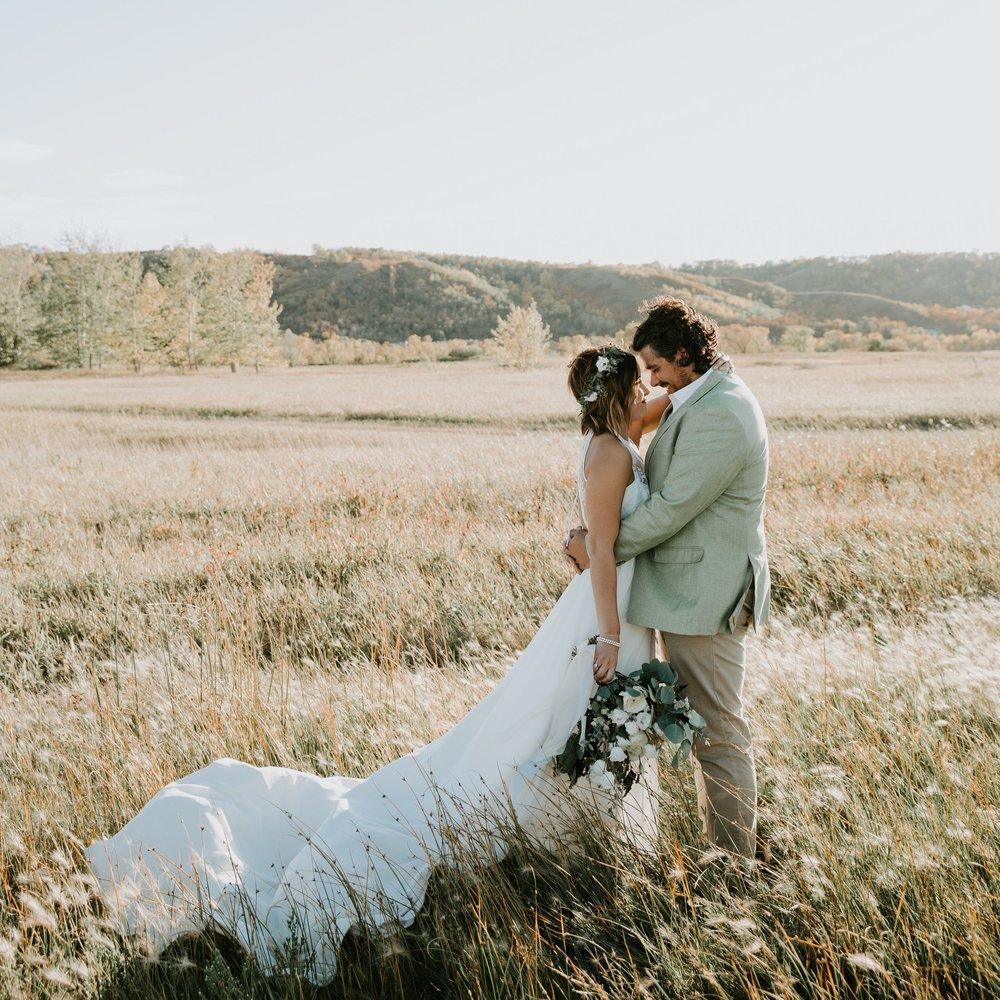 Fort Qu'Appelle valley wedding florist