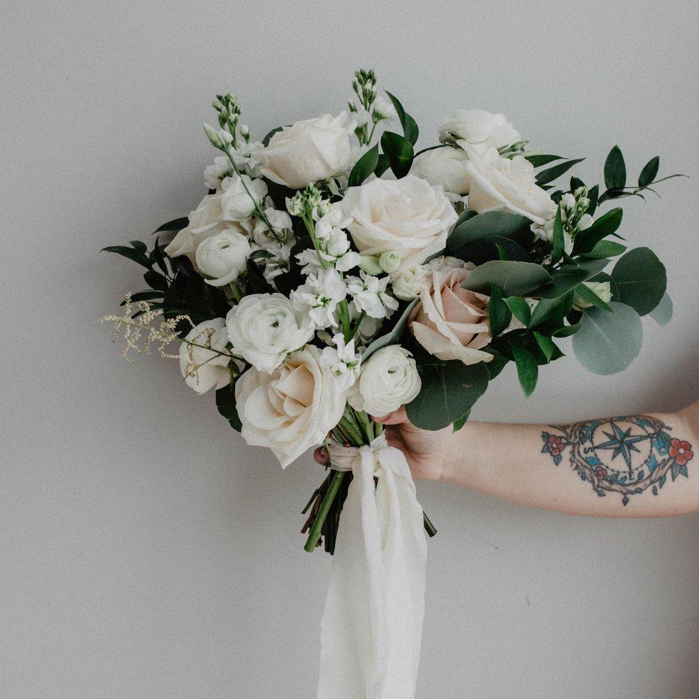 Neutral White Wedding