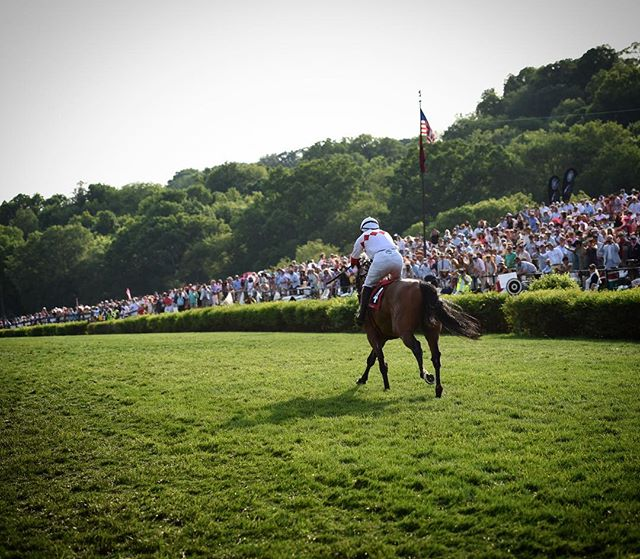 And that's a wrap, folks! Thank you to all of our sponsors, volunteers, patrons, photographers, media teams, operations crews and everyone else who made the 77th Iroquois Steeplechase possible ❤️ • And congratulations to the Grade 1 Calvin Houghland Iroquois winner, Zanjabeel 🏇🏼 • #TNSteeplechase presented by @bankofamerica