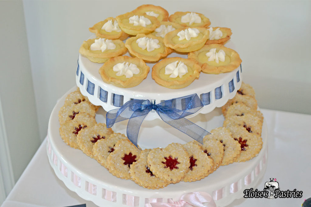 Lemon 2-Bite Pies & Linzer Cookies