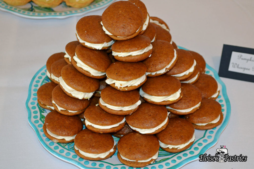 Mini Carrot Whoopee Pies