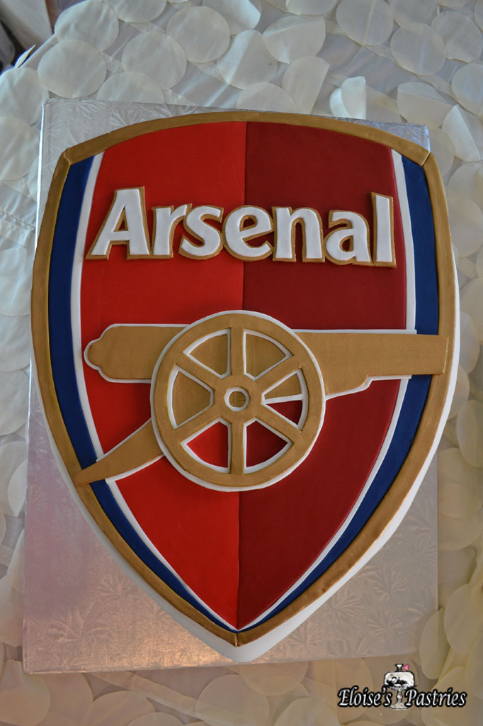 Arsenal Team Groom's Cake