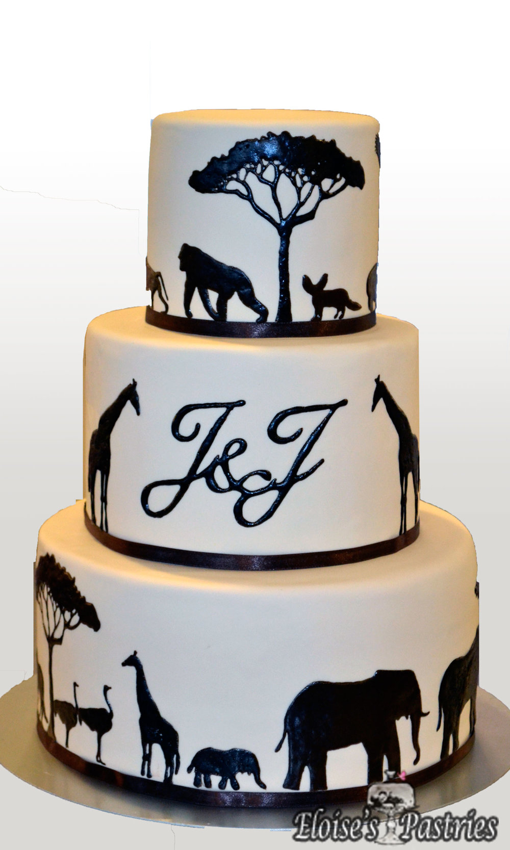 Safari Wedding Cake