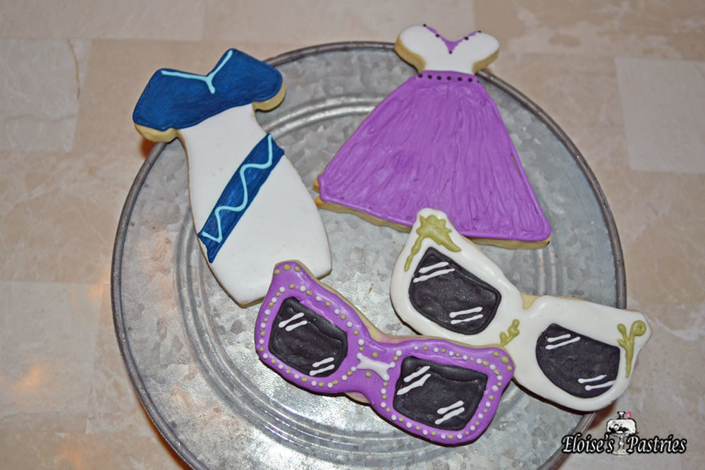 Customized Cookies (Sunglasses/Dresses)