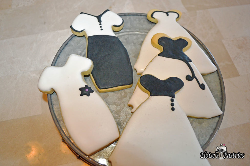 Fashionista Dress Cookies