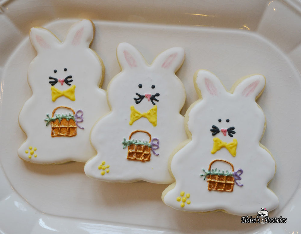 Elegant Easter Cookies