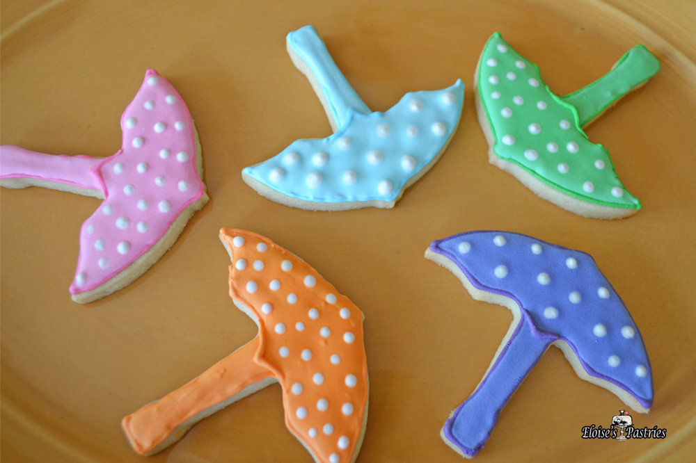 Umbrella Cookies