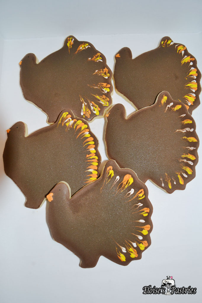 "Turkey ""Gobble"" Cookies"