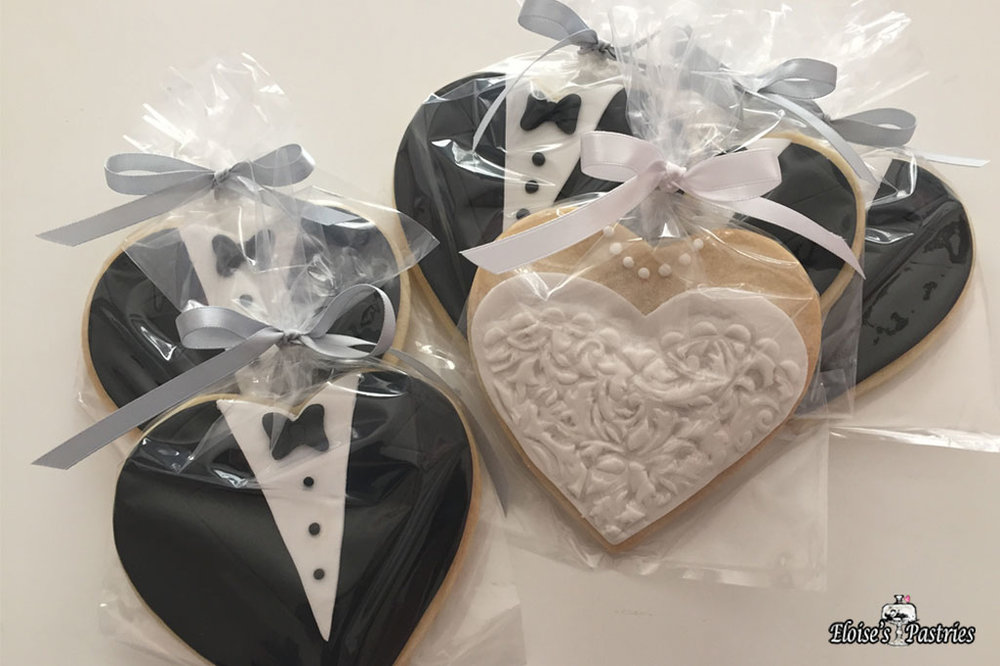 Bridal & Tuxedo Cookies (Packaged)