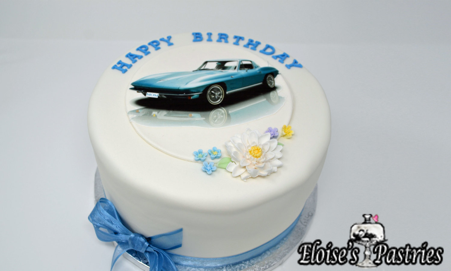 Classic Car Birthday Cake