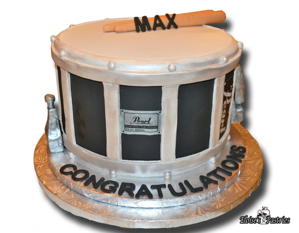 Congratulations Cake (Drum)