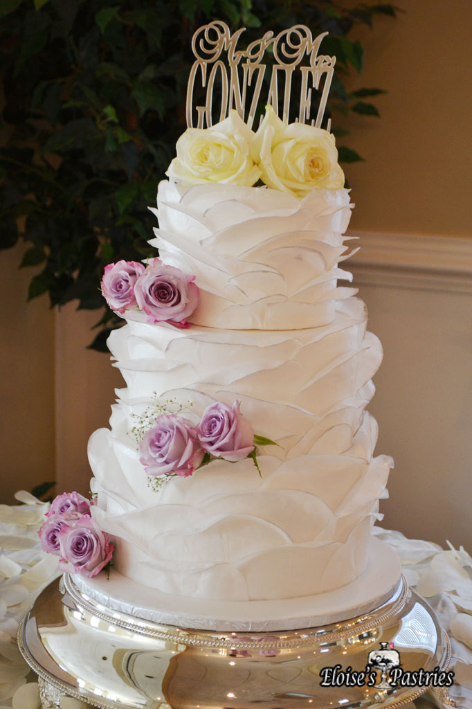 Floral Texture Cake