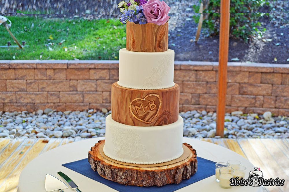 Polished Rustic Cake