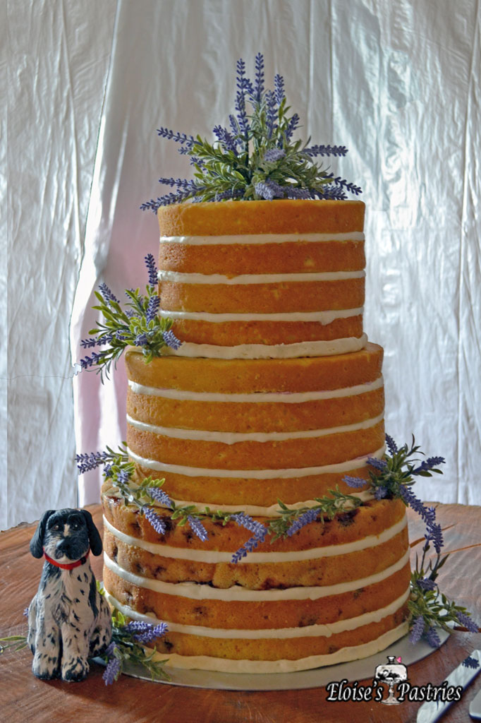 Layered Naked Cake