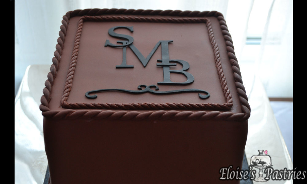 Chocolate Lover's Groom's Cake