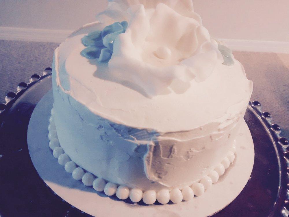 wedding cake taste testing