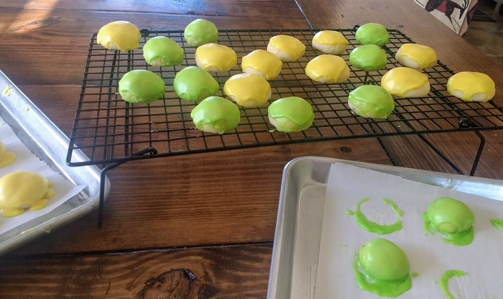 Beneath the Crust: lemon & lime drops