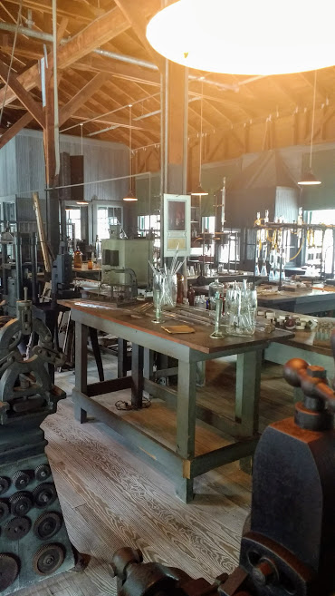 Inside Edison's lab