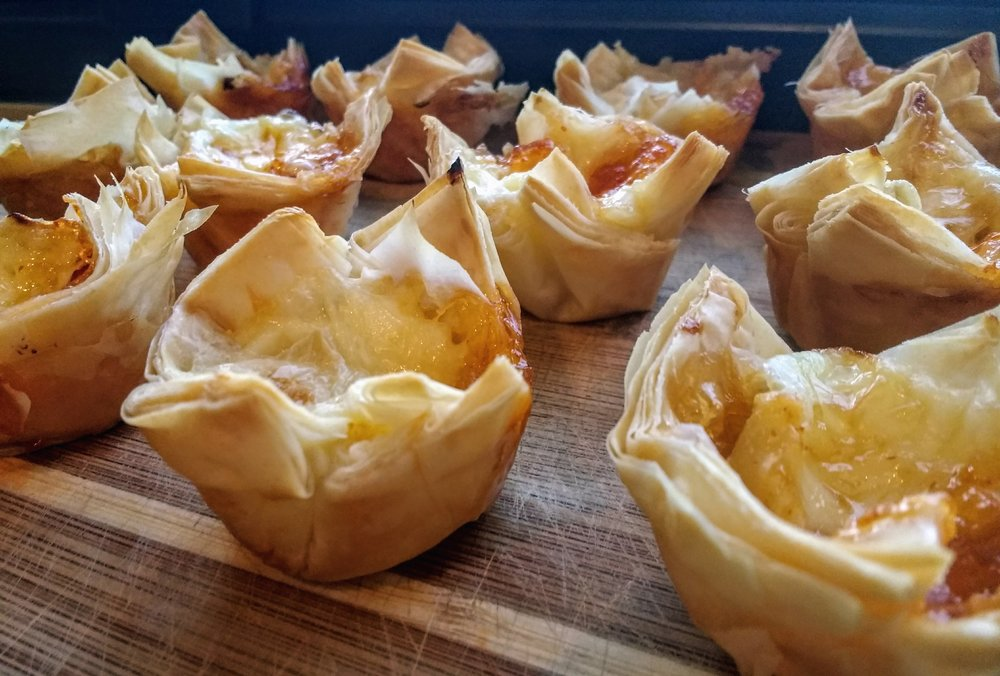 Beneath the Crust: Baked Brie Bites