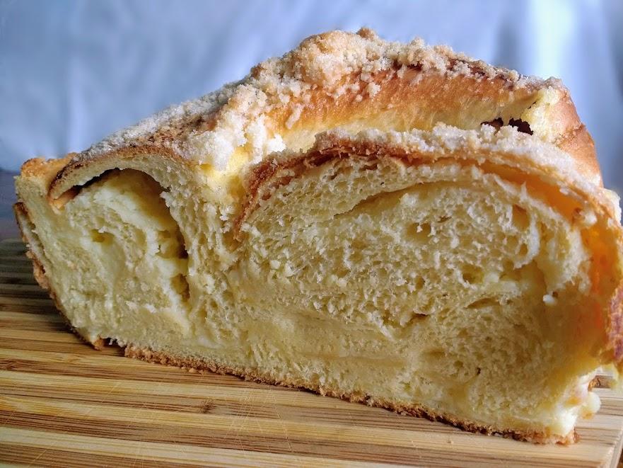 Beneath the Crust: Sweet Cheese Babka