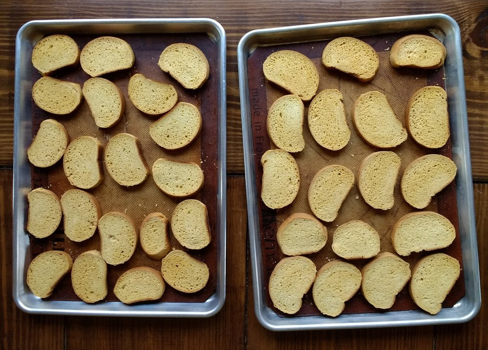 Beneath the Crust: homemade teething biscuits, zwieback toast