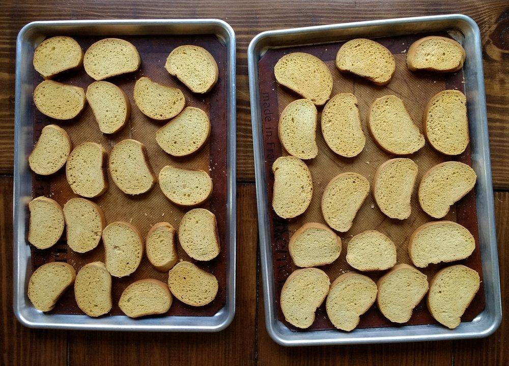 Beneath the Crust: homemade teething biscuits, zwieback toast