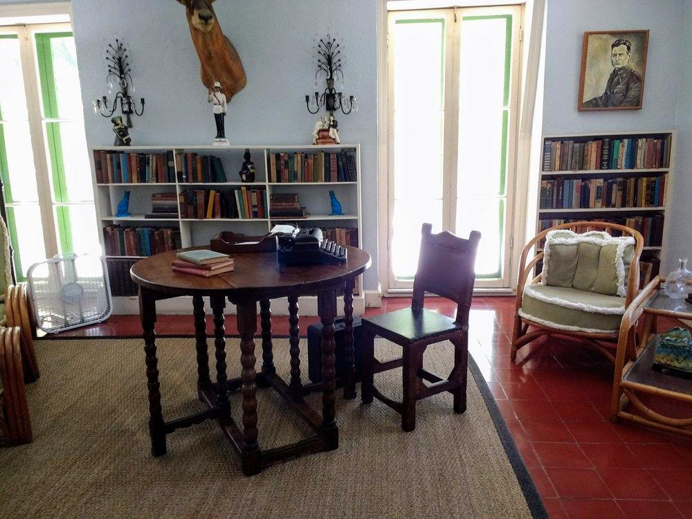 Hemingway's Study