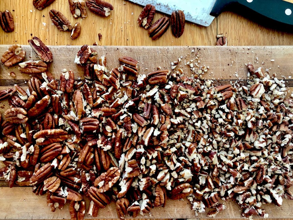 beneath the crust: pecan pie