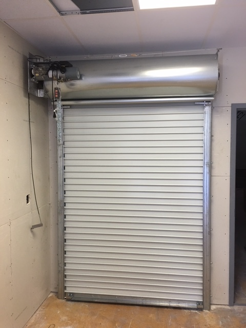 Manual Operated Rolling Steel Fire Door & Rolling Steel Fire Rated Doors \u2014 Industrial Door Solution Fire Rated ...