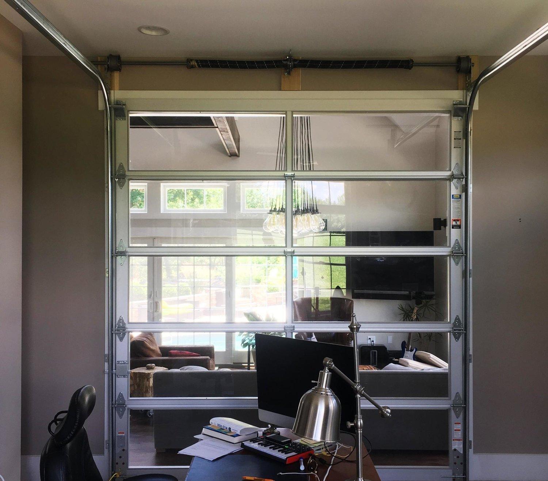Aluminum Overhead Glass Doors Industrial Door Solution Fire Rated