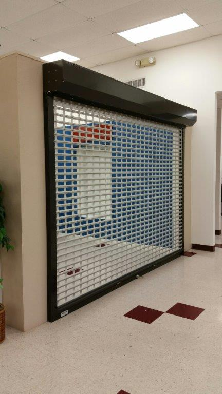 Grille Perforated Roll up shutters