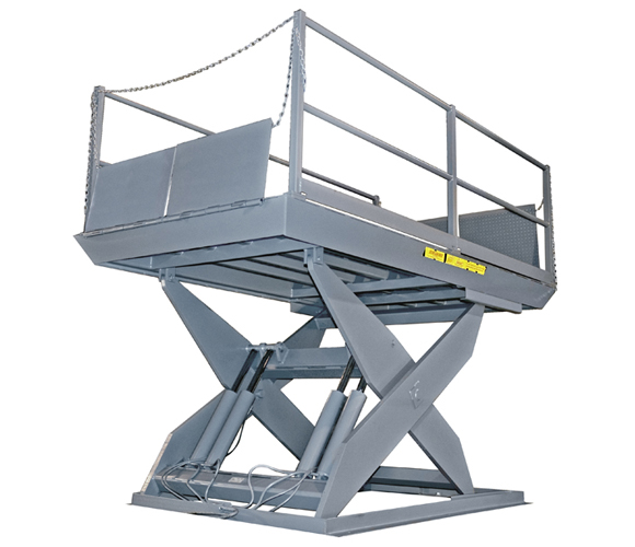 Scissor Lift Dock Table pit mount or surface