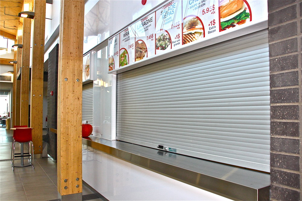 Aluminum Anodized Counter Shutter