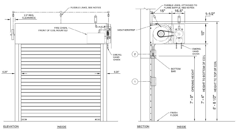 Industrial Door Solution Rolling Steel Doors