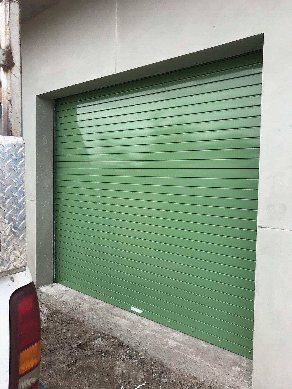 Rolling Steel Door Powder Coated
