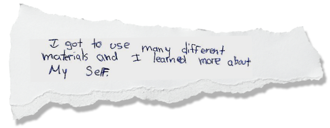 THESE QUOTES WERE HAND TRANSFERRED FROM STUDENT FEEDBACK COLLECTED 2007-2017. SEE MORE OF WHAT WORKSHOP PARTICIPANTS HAD TO SAY ABOUT THEIR EXPERIENCE  HERE