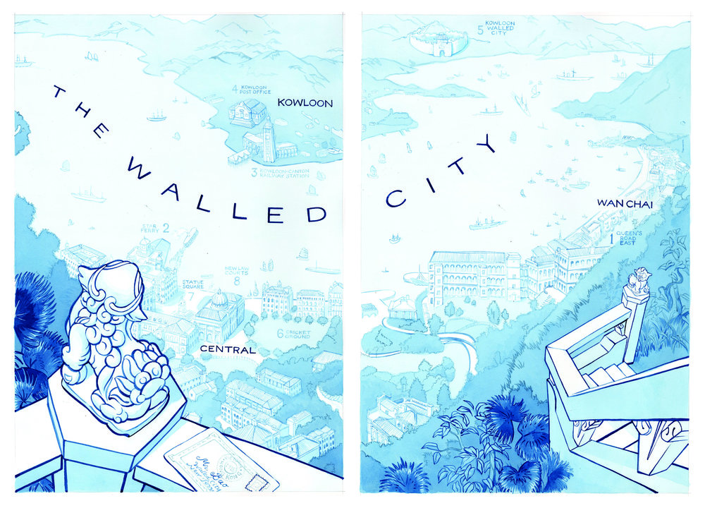 THE WALLED CITY TRILOGY