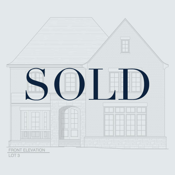 SOLD Lot 3: 3834 Chamblee Dunwoody Road  4 Bedrooms, 4.5 Bathrooms 4,590 Finished, 1,838 Unfinished SF